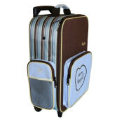 The Shrunks Bandit Mini Travel Luggage, Blue