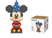 LOZ Diamond Blocks Nanoblock Mickey Mouse Magician Educational Toy 310PCS