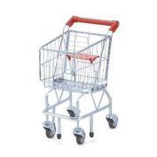 Toy / Game Solid M & D Shopping Cart - Share Hours Of Fun With Your Child! (For Ages  .
