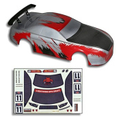 Redcat Racing Road Body (1/10 Scale), Red/Carbon Fibre