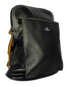 Daniela Moda Italian Leather Rucksack Backpack Messenger Bag 37cmx31cmx13cm
