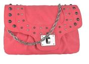 PVC Womens Faux Leather Studded Shoulder Bag Ladies Cross Body Bag