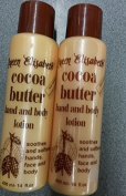 2x Queen Elisabeth cocoa Butter hand and Body Lotion 400ml
