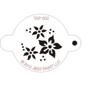 TAP Re-useable Face Paint Stencils - TAP002 Flowers