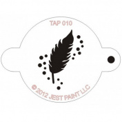 TAP Re-useable Face Paint Stencils - TAP010 Feather