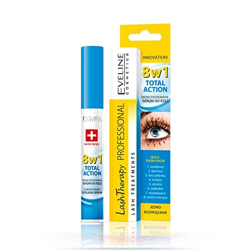 8fc4602a4fb Eveline Cosmetics - Total Action Concentrated Eyelash Serum 8 in 1 Lash  Growth Lash Therapy by Eveline Cosmetics - Shop Online for Beauty in the  United ...