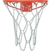 Crown Sporting Goods Outdoor Galvanised Steel Chain Basketball Net