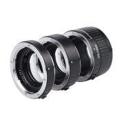 Viltrox DG-G Auto Focus AF TTL Extension Tube Ring 12mm 20mm 36mm Set Metal Mount with Covers for Canon EF EF-S 35mm Lens DSLR Camera