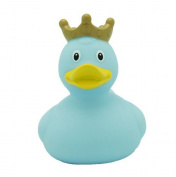 Lilalu 8 x 8 cm/50 g Collector and Baby Crown Rubber Duck Bath Toy