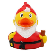 Lilalu 8 x 8 cm/50 g Collector and Baby Pygmy Goose Rubber Duck Bath Toy
