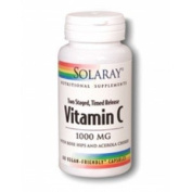 Solaray Vitamin C 1000mg Time Release 60 Capsules