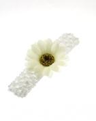 Baby / Children's Crochet Headband with Sunflower