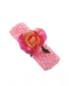 Baby / Children's Crochet Headband with Rose Flower