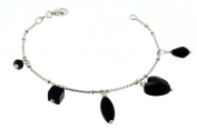 Orphelia Jewellery ZH - 4296 Women's Bracelet 925 Sterling Silver with Different Synthetic Elements ZA - 1721