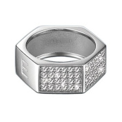 Esprit Motion Women's Ring 925 Sterling Silver Size 58 (18.5) ESRG - 91393.A,18