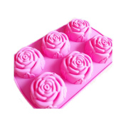 sheepriver also rose 6 silicone cake mould silicone jelly mould soap mould