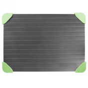 Andrew James Quick Thaw Defrost Tray With Non-slip Silicone Corners - For Rapid Defrosting Of Frozen Foods
