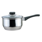 Culinary Edge 01001 Saucepan with Glass Cover, 0.9l
