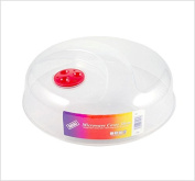 2 x 30cm Large Ventilated Microwave Food Plate Dish Cover