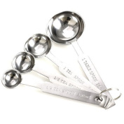 Monkeybrother 4pcs Stainless Steel Measuring Spoons