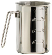 Louis Tellier MIX07 Beaker Stainless Steel, 1 L