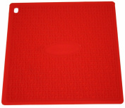 Silikomart 70.198.05.0001 Textured Silicone Pot Holder Presí, Red, Red