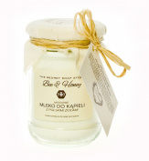 "Goat's milk bath powder with honey (300 g) - ""Bee & Honey"". Look younger!"
