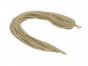 Elysee Star Dreads #613 Bleach Blonde Dreadlocks Double Ended Synthetic Dread