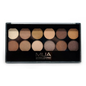 MUA Professional Make-Up -12 Shade Eyeshadow Palette Heaven and Earth