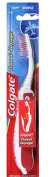Colgate Portable Soft Travel Toothbrush Compact Size Red