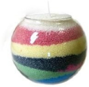 Candle Sand - Scented vanilla