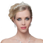 Stunning Princess Style Pearls Tiara Perfect for Bride - SH-DL-C5183