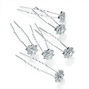 GIZZY® Ladies Set of 6 Diamonte Stone Hair Pins