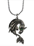 How To Train Your Dragon 2 Toothless Night Fury Animal Necklace Pendant