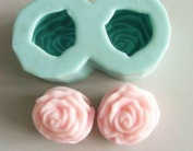 Double Rose Silicone Mould