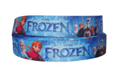 2m x 22mm FROZEN PRINCESS GROSGRAIN RIBBON FOR CAKE'S BIRTHDAY CAKES GIFT WRAP WRAPPING RIBBON HAIR BOWS CARDS CRAFT
