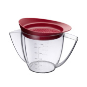Westmark 1 Litre Fat Separator Jug with Strainer, Clear
