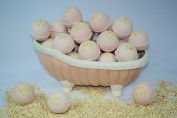Bath Bomb Fizzy 14 Pack of Fizzies 70ml Oatmeal Cookie Scent
