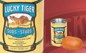 Lucky Tiger Suds for Studs Gents Bar Soap
