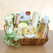 Elegant Vanilla Orchid Spa Mothers Day Gift Basket