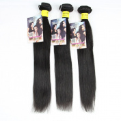 ALI HOT HAIR Mixed Length 3Bundles 300g 20cm 25cm 30cm Virgin Brazilian Straight Human Hair Extension Unprocessed for black women
