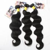 Hot Hair® Best Quality Brazilian Virgin Hair Extension Body Wave, Mixed Length 36cm 41cm 46cm 3pcs 300g per Lot,Fast Shipping