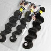 ALI HOT Hair Brazilian Virgin Human Hair Extension Body Wave, Mixed Length 41cm 46cm 50cm 3 Bundles 300g Per Lot