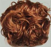 KATIE 18cm Pony Fastener Hair Scrunchie 27A Strawberry-Copper Blonde