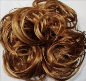 KATIE 18cm Pony Fastener Hair Scrunchie 27 Strawberry Blonde