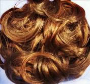 KATIE 18cm Pony Fastener Hair Scrunchie 27C29 Ginger-Cinnamon