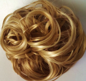 KATIE 18cm Pony Fastener Hair Scrunchie 24H613 Golden Blonde-Vanilla
