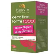 Biocyte Keratine Forte 100 Mg Capsules 60 Days - 120 Capsules