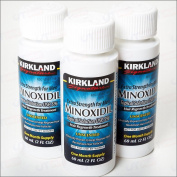 Kirkland Men Hair Loss Regrowth Revitalises Hair Follicles 5% Minoxidil Topical Solution 3 Months Supply Size 3 X 2 Fl. Oz (60 Ml) Original By Siamproviding3
