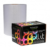 Foil It Star Struck Silver Embossed Light Foil Roll 110m
